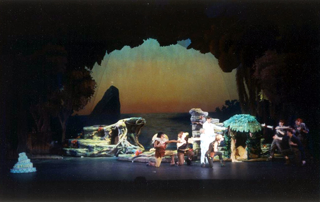 Peter Pan Set, Sword Prop and Scrim Designs – Conrad Askland blog