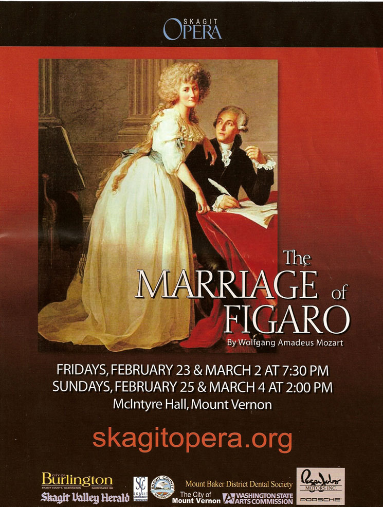 the marriage of figaro This remarkably productive period of creative, critical and popular success for mozart began with le nozze di figaro (the marriage of figaro), which received its world premiere in vienna, austria, on may 1, 1786.