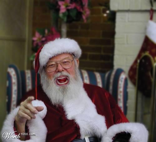 Santa Laughs When You Don't Get a Present
