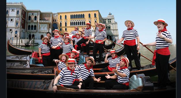 Venetian Gondoliers March 2009