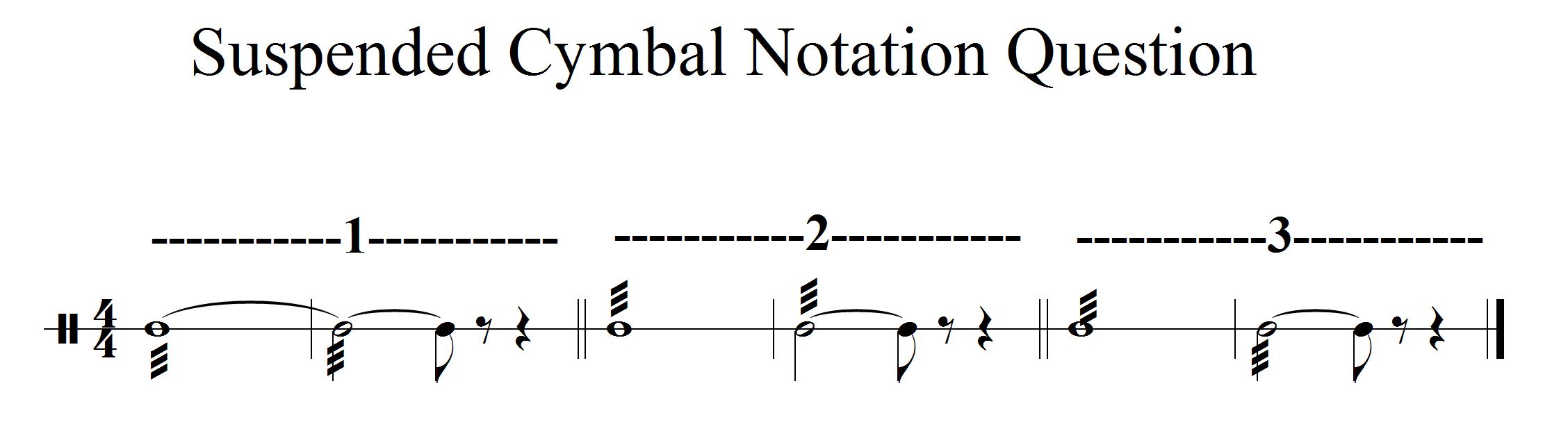 How do you write a drum roll