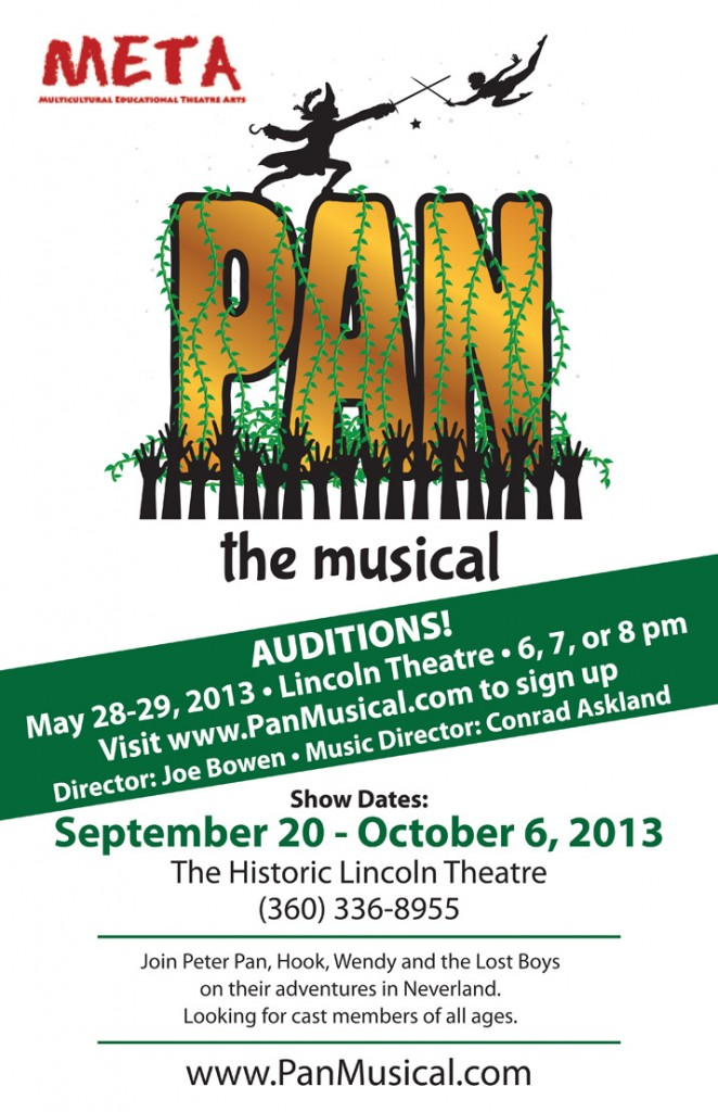 Pan Audition Poster
