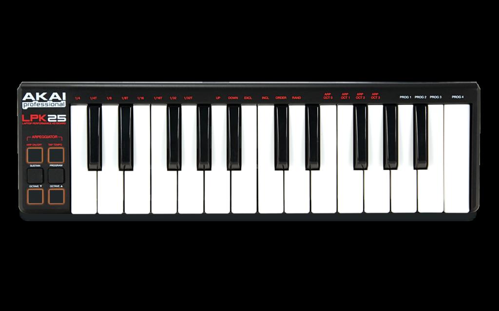 akai-lpk25-keyboard