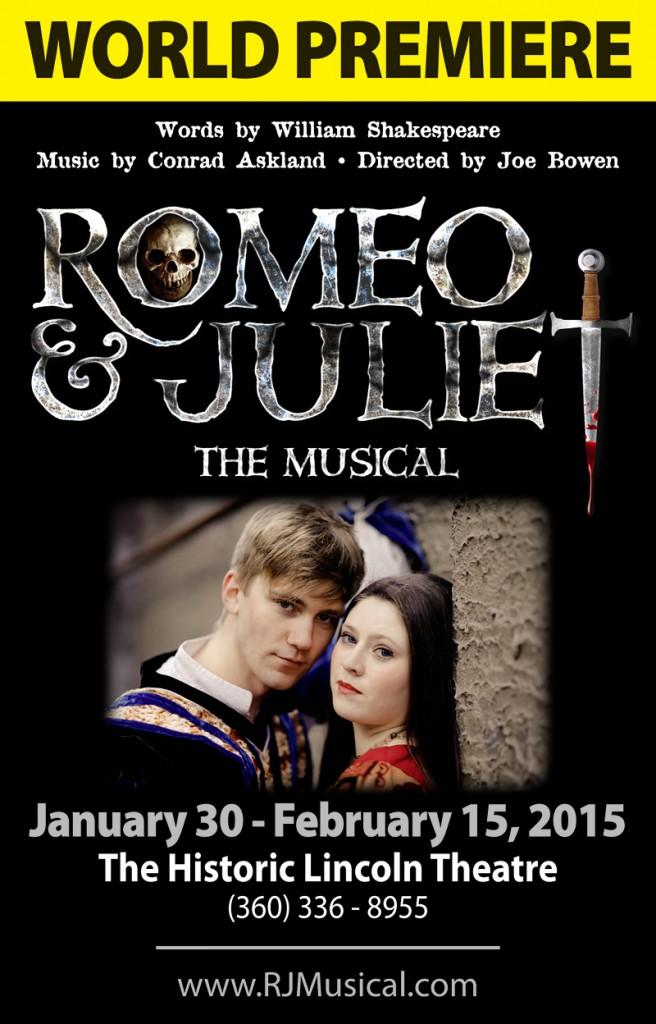 Romeo & Juliet Premiere poster